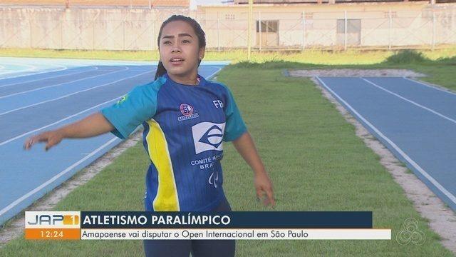 Paratleta amapaense vai disputar Open de Atletismo, em São Paulo