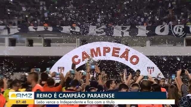 Leão vence o Independente e fica com o título do campeonato paraense