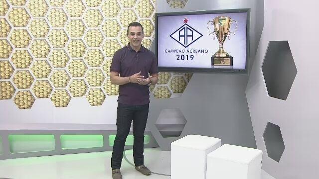 Veja o 3º bloco do Globo Esporte Acre desta terça-feira (23/04/2019)