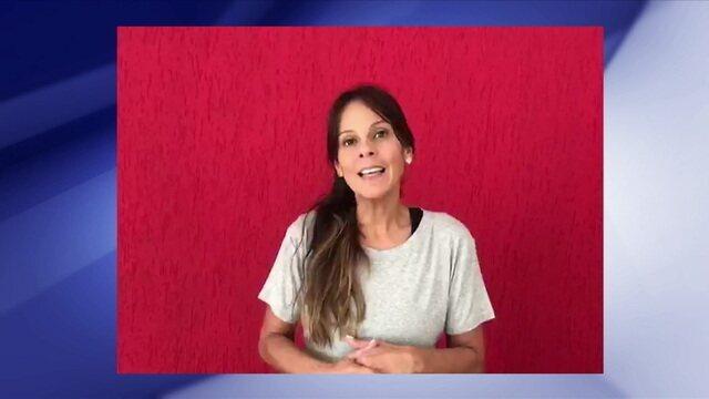 Repórter fala do susto após desmaio de Jaqueline ao vivo