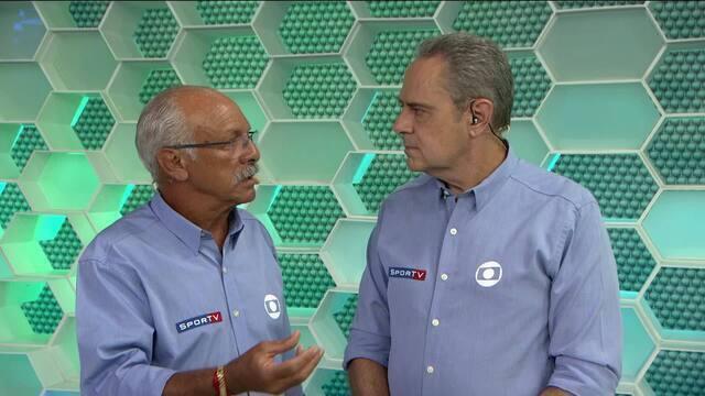 Luis Roberto e Junior comentam melhores momentos da partida entre LDU e Flamengo