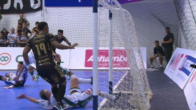 Os gols de Pato 2 x 2 Marreco pela Liga Nacional de Futsal