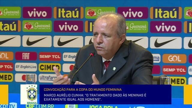 """Vadão afirma: """"Nada impede que Marta desequilibre nesta Copa do Mundo Feminina"""""""