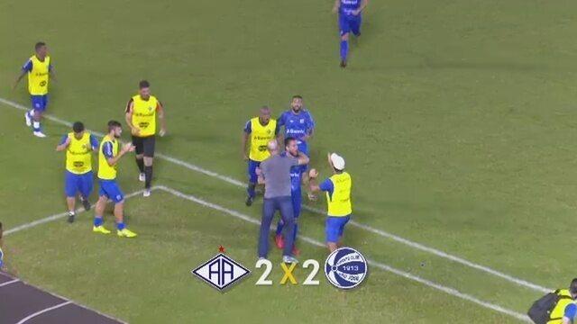 Atlético-AC cede empate ao São José-RS em casa e segue sem vencer no Brasileiro da Série C