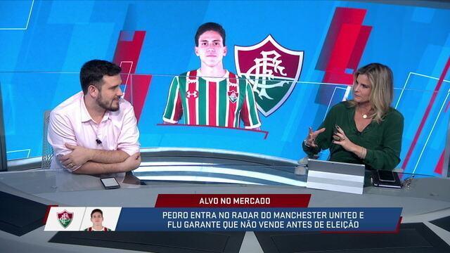 Jornalistas comentam a possível venda de Pedro e a possibilidade do atacante ir para outro clube brasileiro