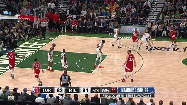 Melhores momentos: Milwaukee Bucks 99 x 105 Toronto Raptors