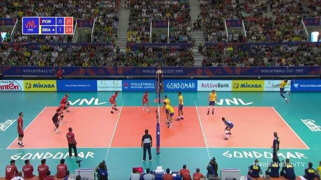 2º Set - Leal faz um ace, Brasil fecha o set e abre 2 x 0