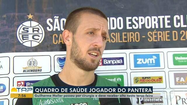 Após lesão de Guilherme Moller, diretoria do Pantera não descarta contratação de zagueiro