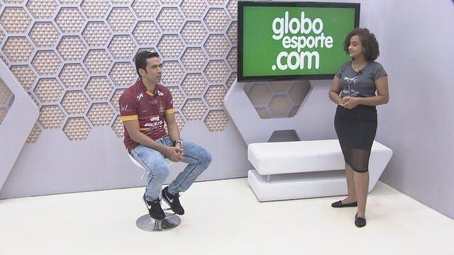 Bate-Papo GE: Souza, atacante do Genus comenta sobre a participação na Copa Verde