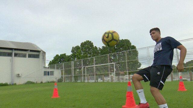 Após desistir do futebol de base no Brasil, carioca retoma sonhos nos Estados Unidos