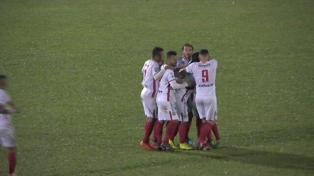 Gols de Brusque 3 x 0 Boavista