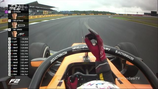 Jack Aitken vence a segunda prova do GP da Inglaterra da Fórmula 2