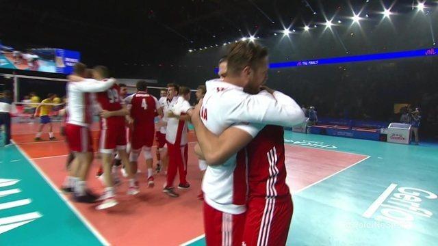 Melhores momentos: Polônia 3 x 0 Brasil pela disputa de 3° lugar da Liga das Nações