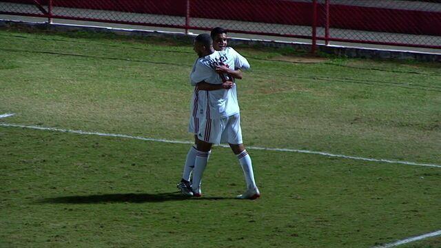 Os gols de São Paulo 2 x 0 Fluminense pela 5ª rodada do Brasileiro sub-20