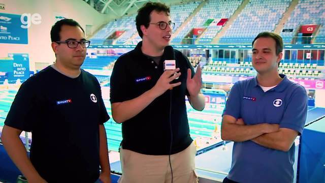 Equipe da Globo na Coreia conta bastidores da confusão dos 200m livre