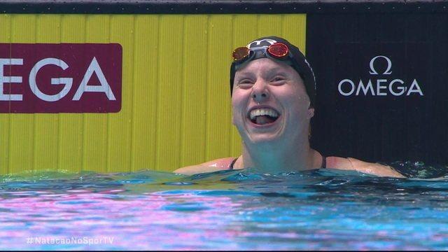 Lilly King vence a semifinal 1 dos 50m peito e faz 29.84