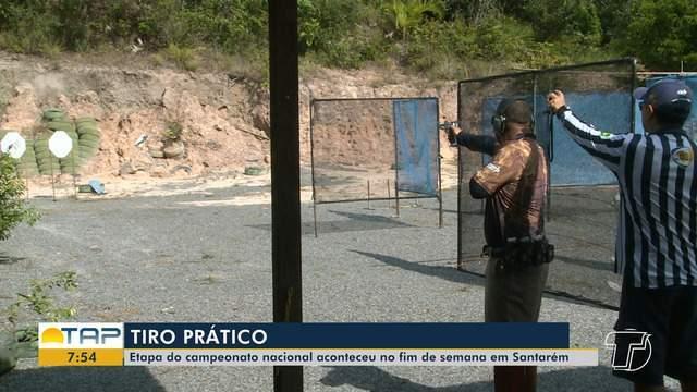 Etapa de Campeonato Nacional de Tiro Prático aconteceu no fim de semana, em Santarém