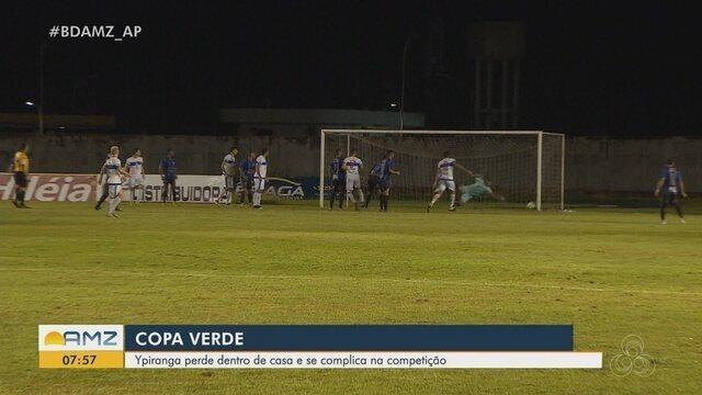 Ypiranga perde dentro de casa para o Atlético Acreano e se complica na Copa Verde