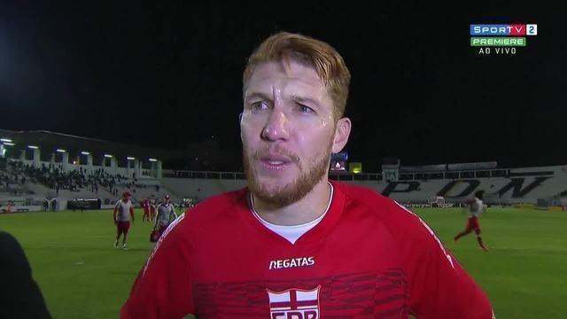Ferrugem fala sobre o gol marcado contra a Ponte