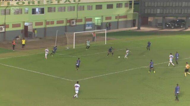 Assista os gols de Atlético-AC 2 x 1 Ypiranga-AP, jogo de volta das oitavas da Copa Verde