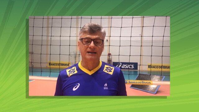Técnico da seleção brasileira de vôlei convida público para palestras em Roraima
