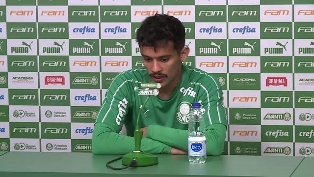Veja como foi a entrevista de Gustavo Scarpa, do Palmeiras