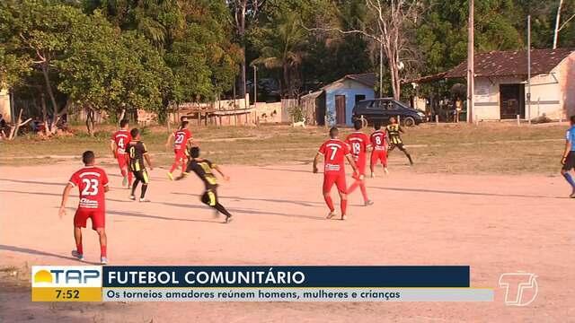 'Futebol Comunitário' reúne diversas pessoas apaixonadas pelo esporte