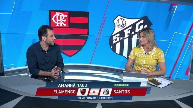 """André Loffredo analisa o duelo Flamengo e Santos: """"O Flamengo tem o jogo mais vistoso do Brasil"""""""