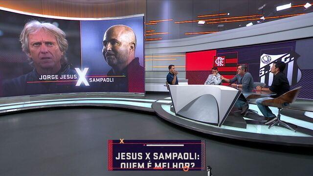 Comentarista do Seleção debatem quem é melhor: Jorge Jesus ou Jorge Sampaoli?