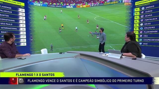 """Pedrinho mostra insatisfação com desempenho do Santos contra o Flamengo: """"Fiquei decepcionado com o Sampaoli"""""""