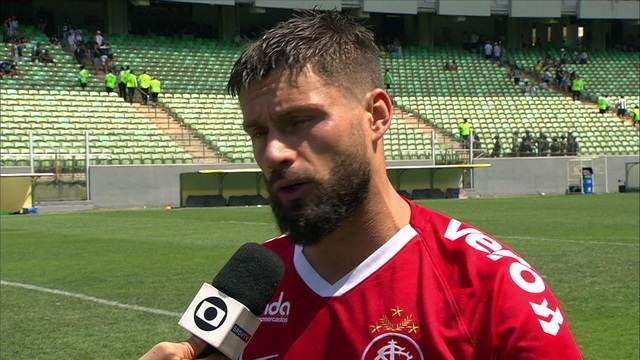 Rafael Sóbis elogia a preparação para o jogo contra o Atlético-MG
