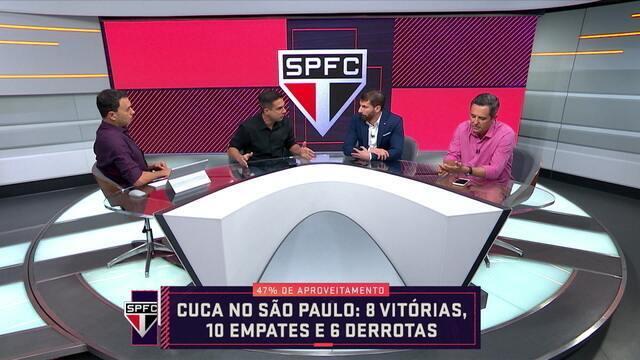 """Comentaristas falam sobre o momento do São Paulo: """"A torcida tem sido muito mais do que o time"""""""