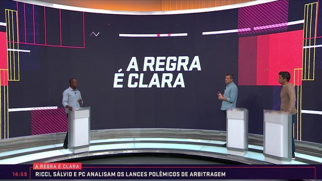 A Regra é Clara debate os lances polêmicos da 19ª rodada do Campeonato Brasileiro