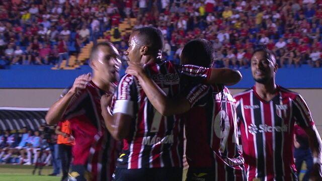 Os gols de Vila Nova 0 x 2 Botafogo-SP pela 23ª rodada da Série B do Brasileiro