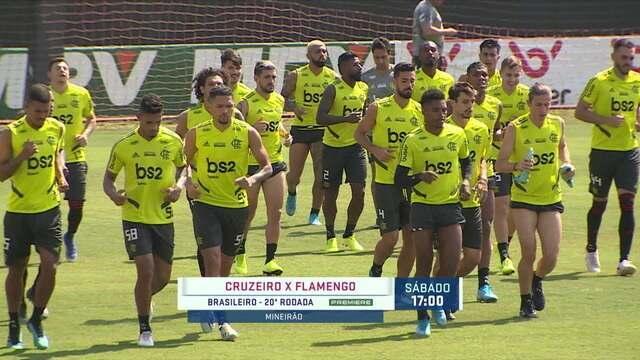 Jesus terá todos os jogadores à disposição para o jogo contra o Cruzeiro