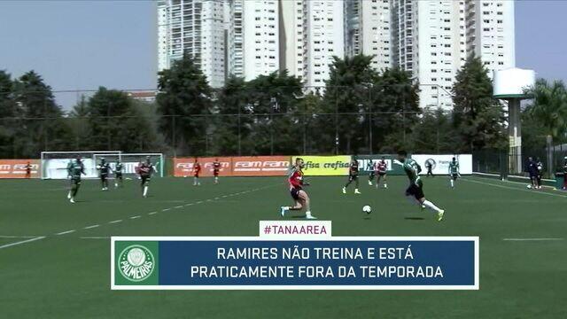 Ramires pode ficar fora do Palmeiras até o final da temporada