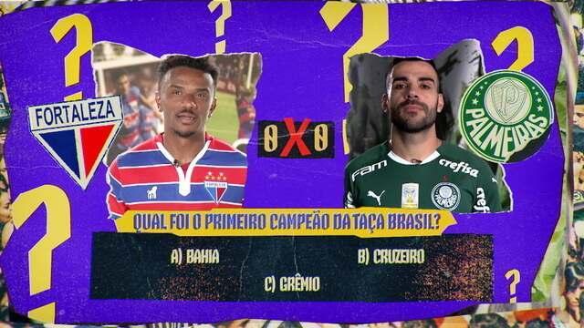 Fala Muito!: Quiz do Brasileirão desafia jogadores do Fortaleza e Palmeiras