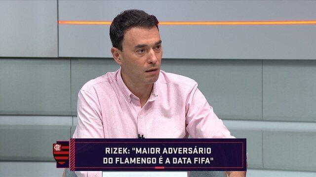 """André Rizek comenta sobre as convocações da Seleção Brasileira e diz: """"O maior adversário do Flamengo é a data Fifa"""""""