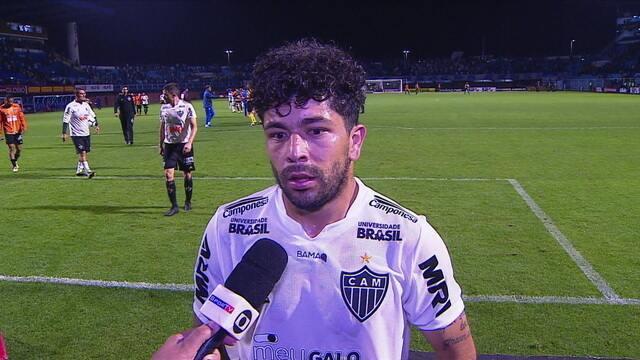 """Luan comenta quinta derrota do Atlético-MG no Brasileiro: """"Não estamos conseguindo concluir"""""""
