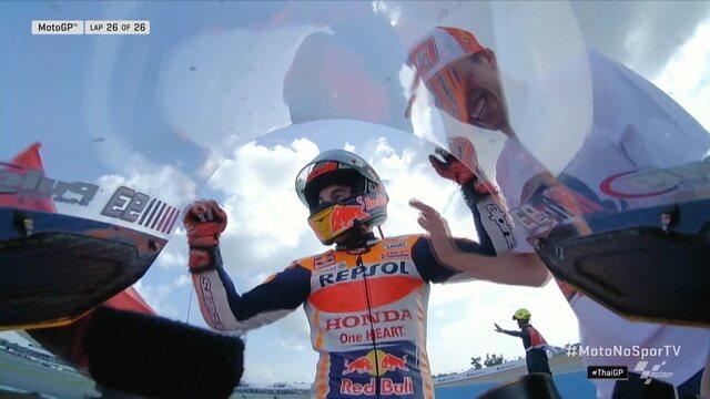 Marc Márquez é campeão do Mundo no MotoGP