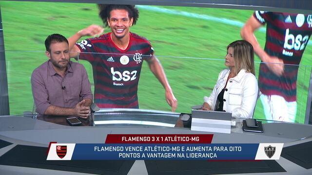 """André Loffredo diz que acha difícil o Flamengo não ser campeão brasileiro: """"Não parece que esse time vai cair de produção"""""""