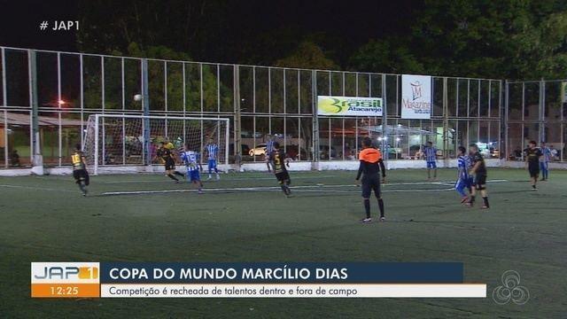Copa Marcílio Dias tem competição de talentos dentro de fora do campo
