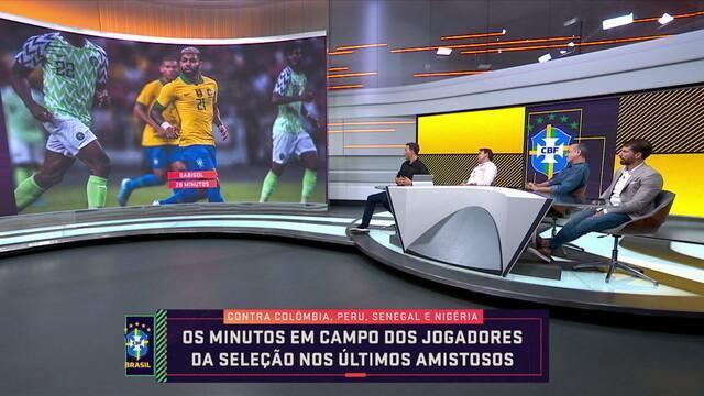 Rizek questiona a minutagem dos jogadores da Seleção nos últimos amistosos