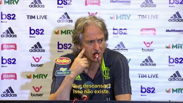 Comentaristas concordam com Jesus após técnico afirmar que não pouparia jogadores para o Fla-Flu