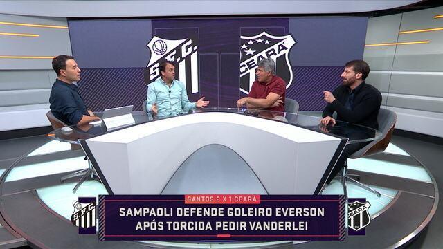 Comentaristas falam sobre forma de jogar do Santos com Jorge Sampaoli