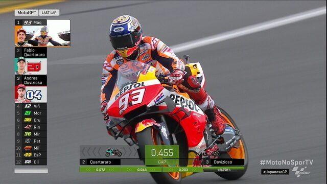 Marc Márquez vence etapa do Japão na Moto GP no Mundial de motovelocidade