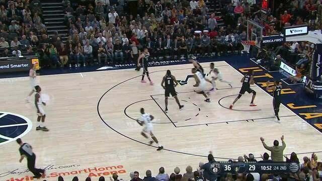 Melhores momentos: Utah Jazz 119 x 114 Brooklyn Nets, pela NBA