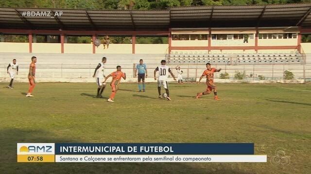 Calçoene vence Santana no 1º jogo das semifinais do Intermunicipal