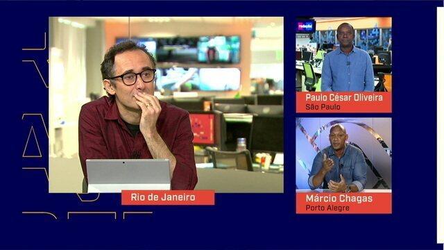Mesa convida Paulo César Oliveira e Márcio Chagas para debater sobre o racismo no futebol