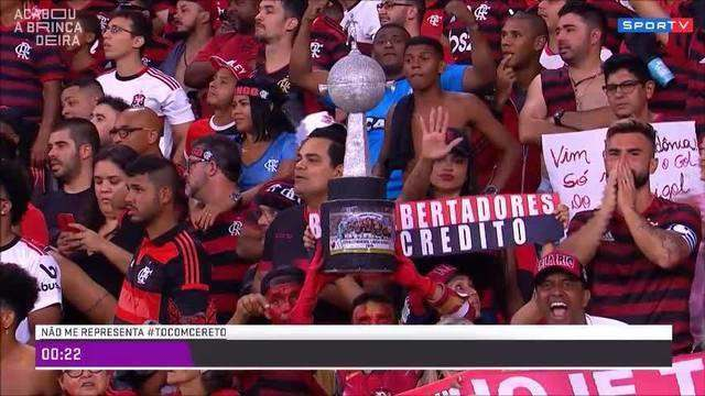 Acabou a Brincadeira pergunta: o Flamengo é o Brasil na Libertadores?